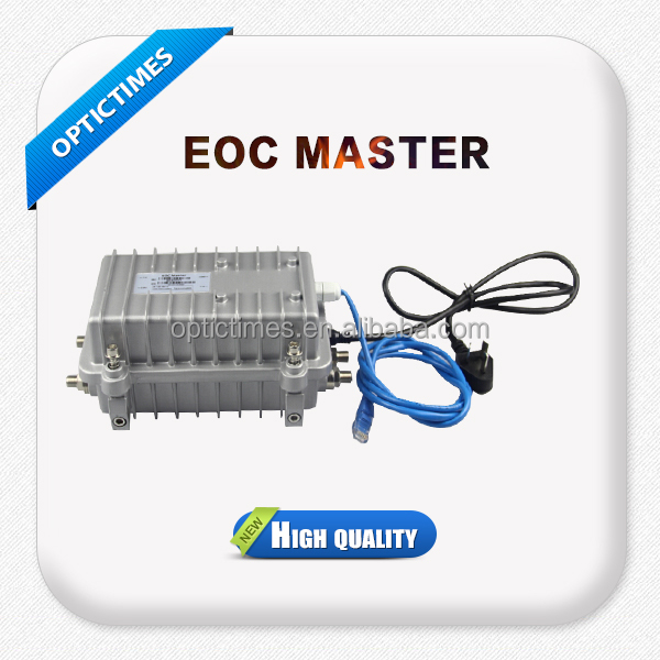 IP camera and power over coax CATV system eoc master