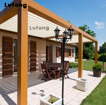 Outback Sunroof Patio Outdoor Open And Close Louver Roof Pergola