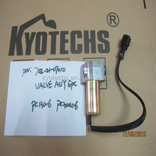 EXCAVATOR EPC VALVE ASSY FOR 702-21-07012 702-21-07013 702-21-07014 PC130-6 PC300LC-6
