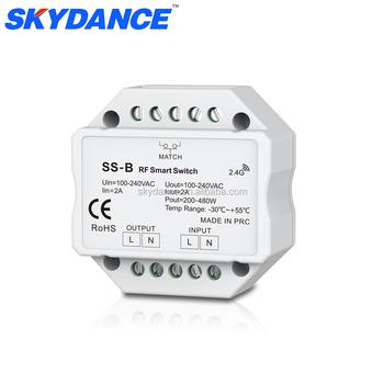 Knx Ac Triac Rf 2.4 Ghz Draadloze Smart Switch Met Relaisuitgang ...