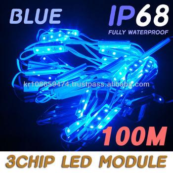 kb3] Blue 3 Chip Led 5050 Smd Module Business Channel Sign Letter ...