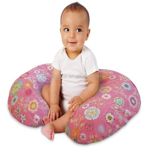 Nice design factory direct sale PP cotton soft baby crib nursing pillow