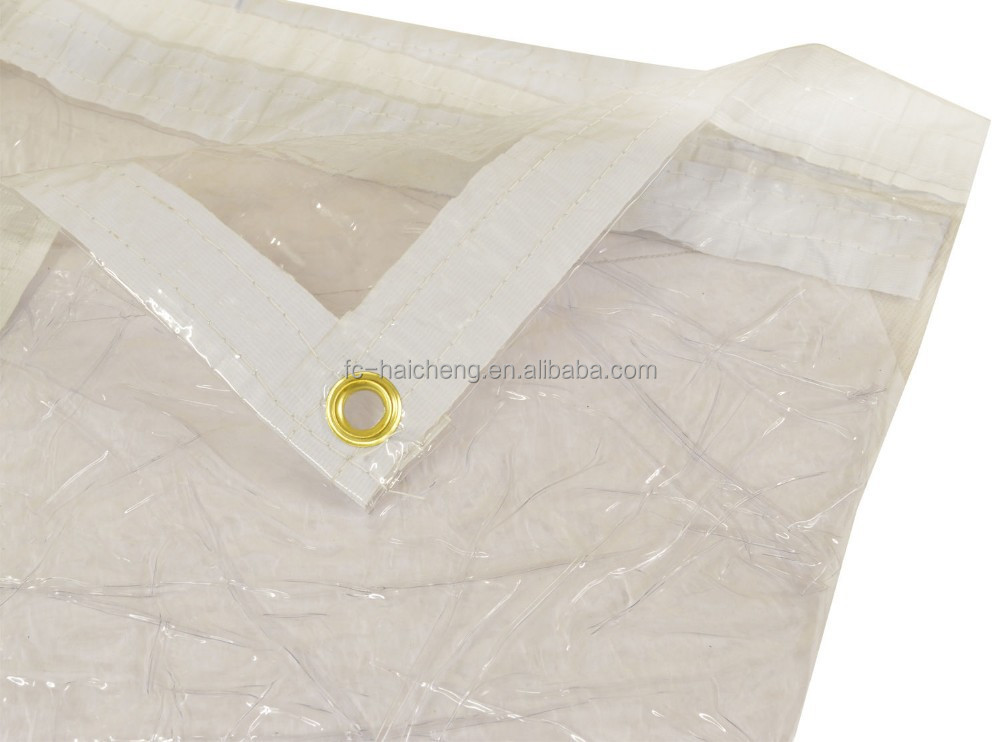 Glass Clear Pvc Tarpaulin,2mx2.4m Transparent New Tarps