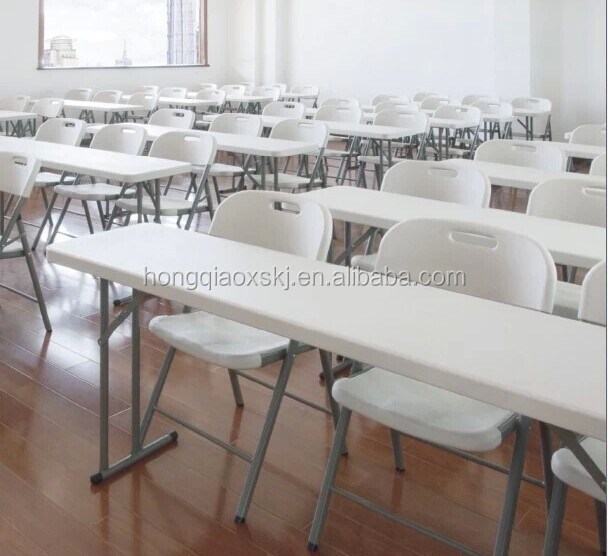 2.4meter meeting plastic folding <strong>tables</strong> HQ-HY240|plastic folding <strong>table</strong> for meeting ,conference,party,dinner,banquet