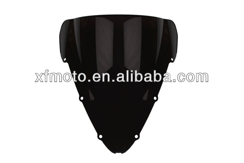 Motorcycle Windshield Windscreen For Honda CBR600RR CBR 600 F4 2001-2007 Black