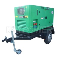 50kva Trailer Generator Diesel 400v 1500rpm By Fuzhou Gff Keypower Supply