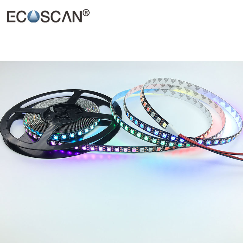 WS2812B Addressable Programmable Dream Color Changing Grow LED Strip 60LED/M digital 5M 5V