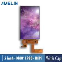 5 inch 1080*1920 HD TFT LCD with CTP IPS screen and MIPI interface 1080p panel display capacitive touch screen