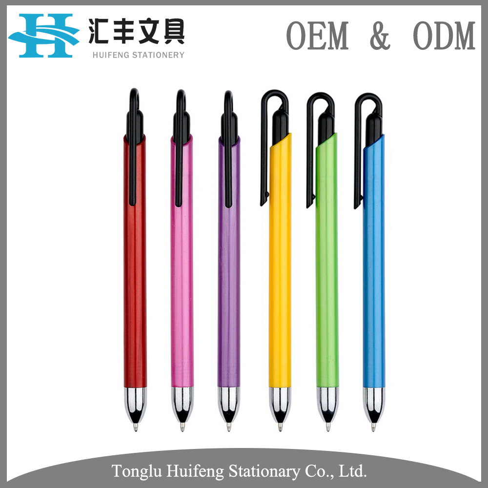 HF5288 oem wholesale cheap price plastic stylus uni ball pen for promotion