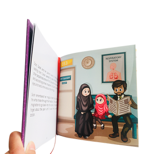 Top quality customized fashion promotional manufacturer printing children book print children sound book & reading pen