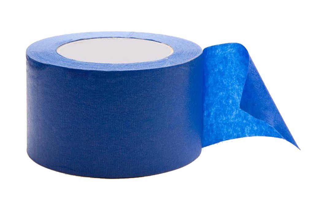 Hardex Blue Painter's Tape, 4 Inch Wide, Masking tape, Paint-line protector