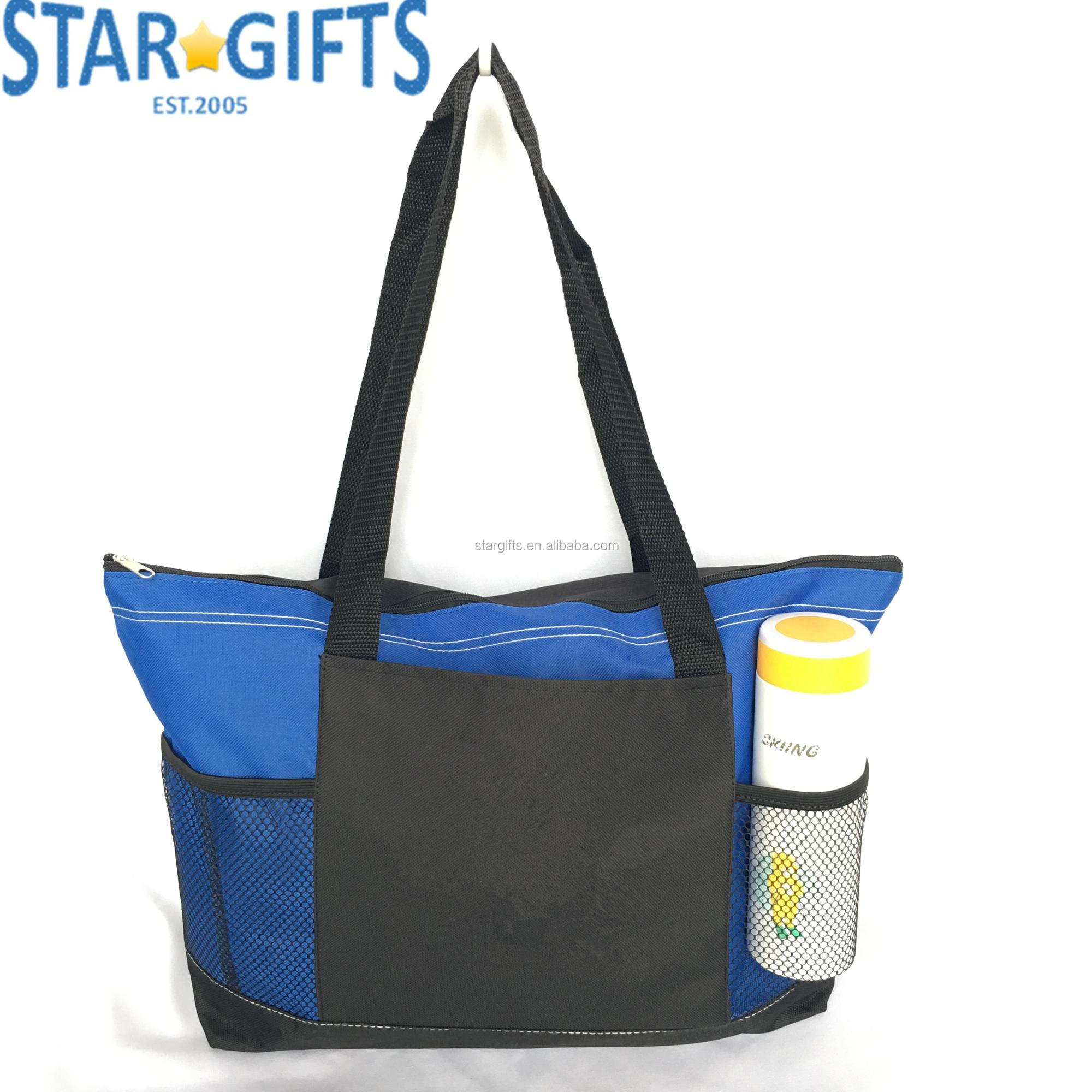 Wholesale Custom Printing Branded Logo Promotional Tote Baby Nappy Diaper Bag
