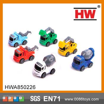 New Design Diecast Toy Truck Friction Truck Car Mini Car Small Metal