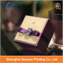Customize Fancy Wedding Favour Popular Paper With Glass Beads Gift/Candy Boxes Wholesale