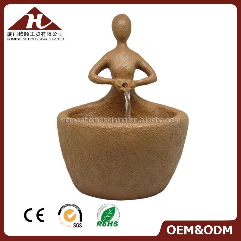 resin crafts garden water fountains outdoor