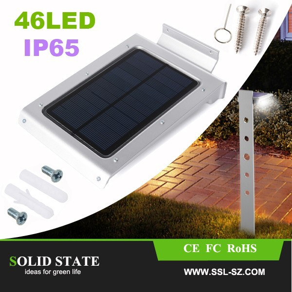 Wholesale 46 Led Motion Sensor Lights Outdoor Solar Wall Yard Path ...