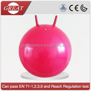 Kids Hopper Bouncy Ball With Handles For Riding Buy Hopper Bouncy Ball Inflatable Balls Ride Bouncy Ball With Handle Product On Alibaba Com