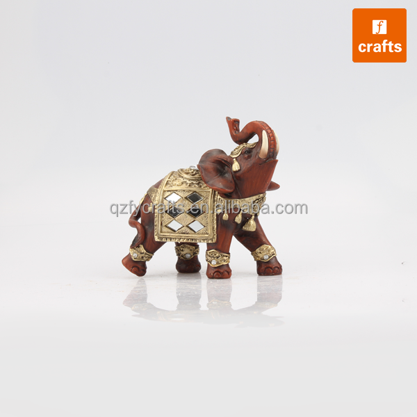Indian decorative elephants souvenir small resin elephants