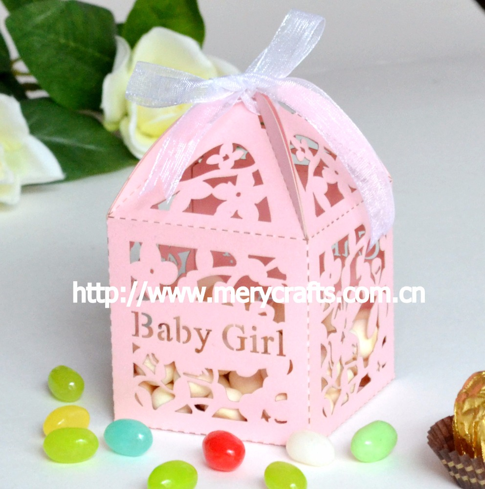 Personalised Baby Girl Candy Box