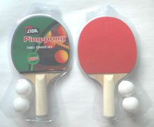 Groothandel hoge kwaliteit houten dubbelzijdig <span class=keywords><strong>tafeltennis</strong></span> rackets pingpong <span class=keywords><strong>racket</strong></span>