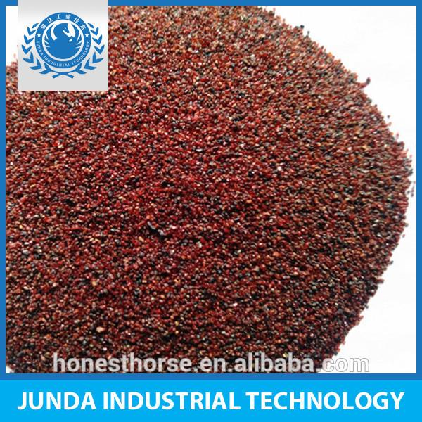 Abrasive Sanding natural garnet 20/40 mesh used for under water cleaning equipment