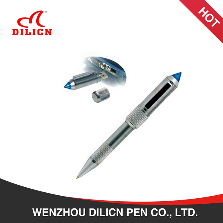 Manufacturers low price black 1 mm ink ballpoint pen with usb