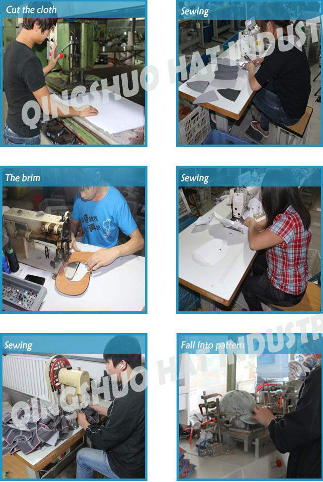 panel denim baseball cap making machine machinery hat