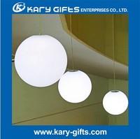 various sizes led ball light for wedding decoration PE plastic led event furniture