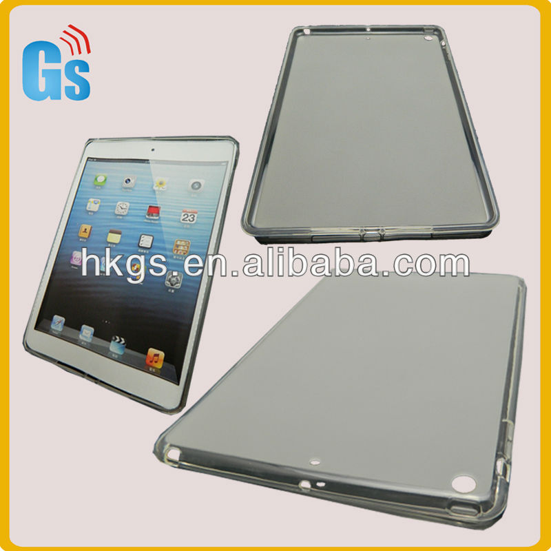 Great clear silicone rubber tablet case for ipad 5
