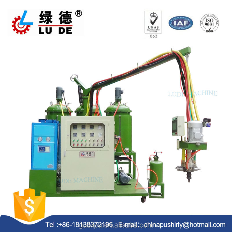 LD308 low press pu polyurethane party foam sponge making injection machine