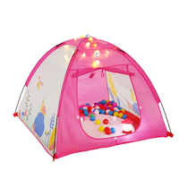 Kids Play Tent for Girls Indoors or Outdoors Children Play Tent Big Space Playhouse 47.2 x 47.2 x 35.4 inch Pink