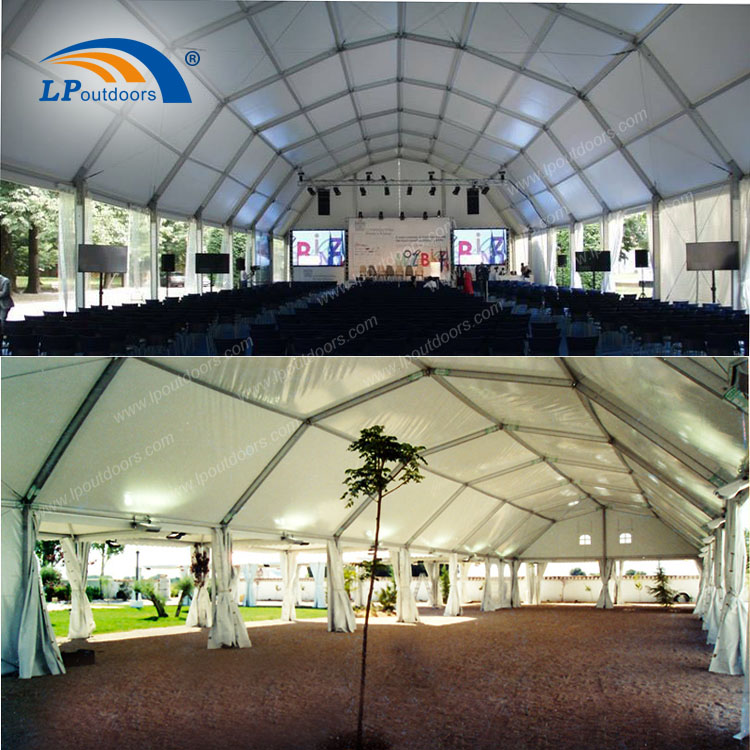 polygon event tent for conference
