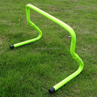 Sports equipment adjustable agility training hurdle