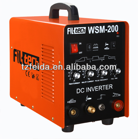 Portable MOSFET DC Inverter tig/mma ws 200 inverter welding machine