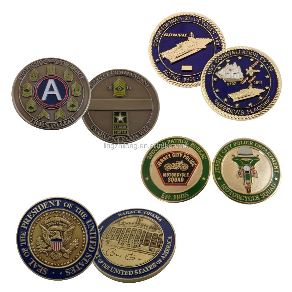 Custom Blank Challenge Coins Collectible Use Challenge