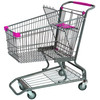 125L Best Selling RH-SMD125 American Supermarket Shopping Trolley Cart