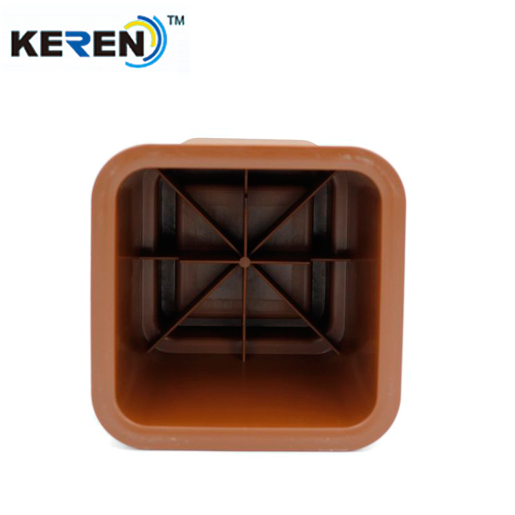 Good Quality small MOQ Plastic Bed Furniture Chair Leg Risers
