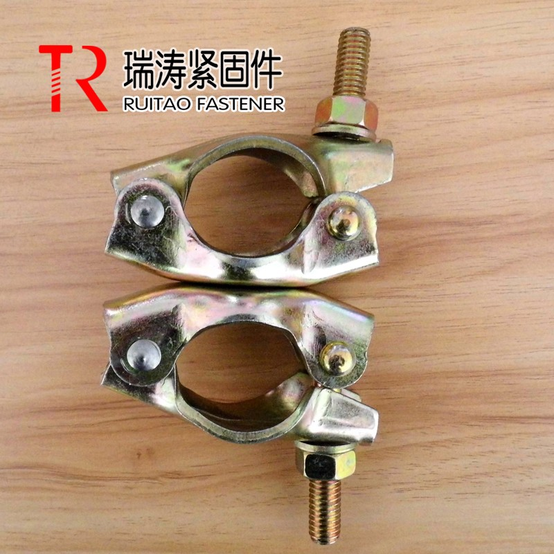 Scaffolding stamping double /swivel coupler/clamp