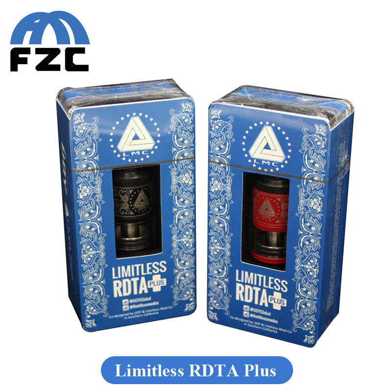 New Vapor Tank Ijoy Limitless Rdta With Limitless Plus Rdta ...