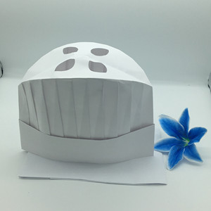 High quality disposable paper chef hat for cooking
