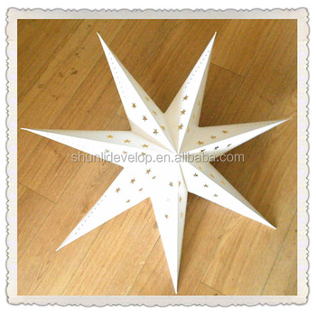 Solar Star Lanterns With Diffe Shaped