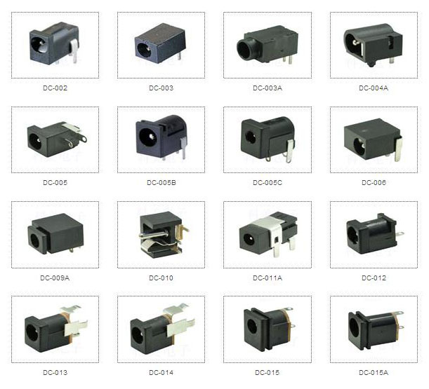 1 0mm 3 Pin Dc 002 Dc Power Jack Socket Buy Dc 002 Dc