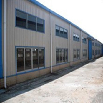Main prefab Logistics Warehouse In Qingdao car showroom structure warehouse