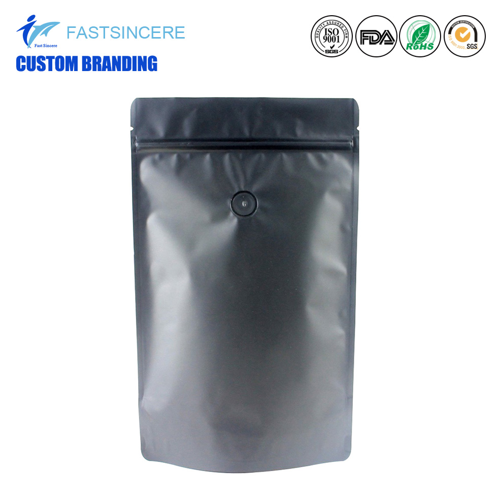 Cusomt Printing Coffee Bag Packaging With Valve