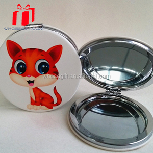 Promotional Gifts Good Quality Custom Cheap Square Pocket Mirror