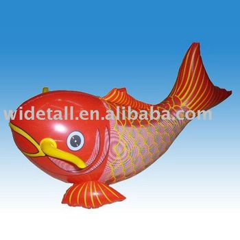 Inflatable Fish Sea Toy Plastic Fish Inflatable Fish