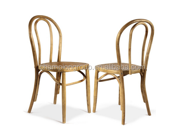 Antique Wood ChairVintage Style Solid Dining Chair Mx 0011w