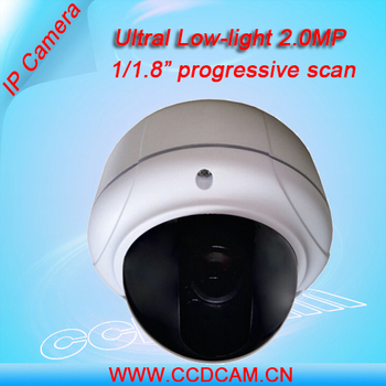 surveillance equipment ultra low light 2.0mp vandalproof dome camera with IMX187 sensor