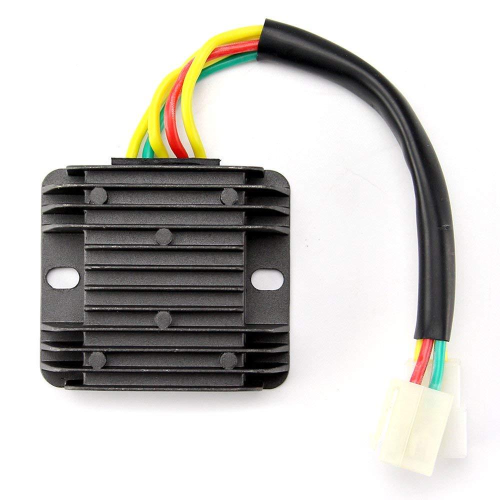 Get Quotations · Oumurs 12V Voltage Regulator Rectifier for Hyosung GT650R  GT650 Comet GV650 ST7 GT650S GV GT250R 250