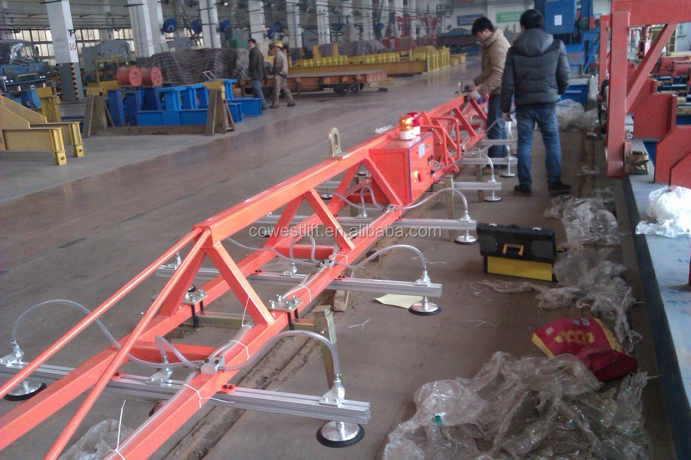 vacuum lifter for metal sheets and panels